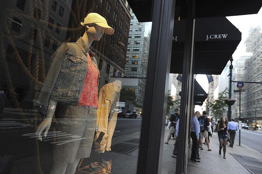J. Crew's sales have fallen because of unappealing styles and fit.