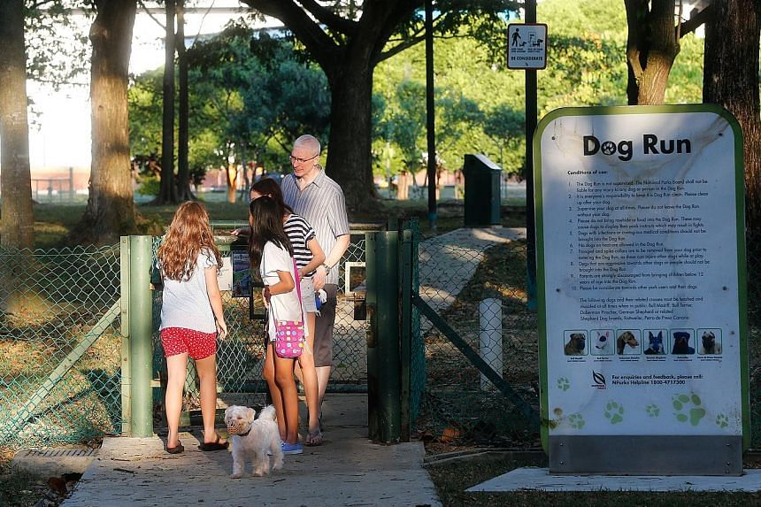 The Clean Run Agility Club had its application to use the West Coast Park dog run (above) for an event turned down initially. But NParks has since explained there was a processing error and has made an apology.