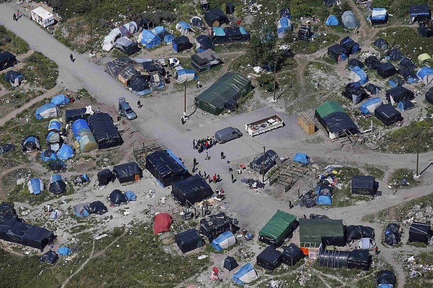 The shanty town known as Jungle Camp in the French port city of Calais. It is home to more than 3,000 migrants and shows signs of becoming more permanent by the day, the Guardian newspaper has reported.