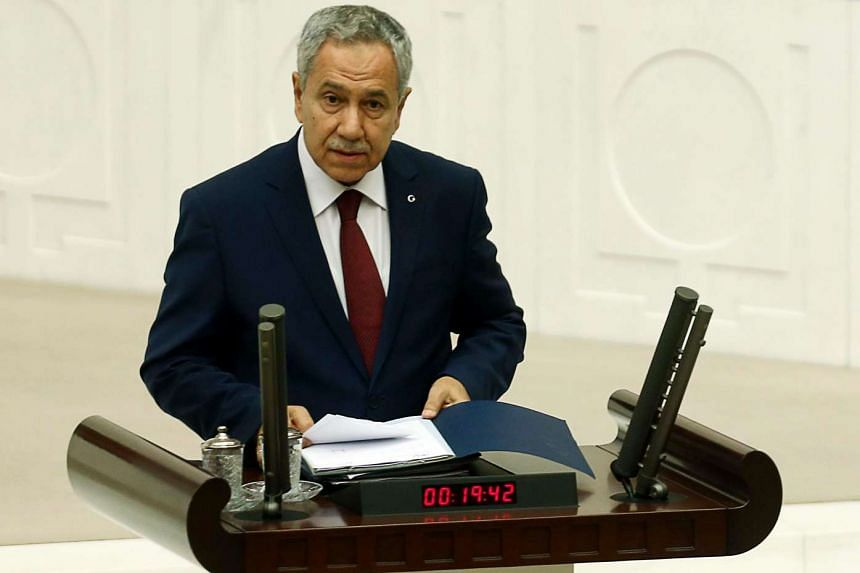 Arinc made the remark during an emergency debate in parliament over the government's military intervention against militants in Syria and Kurdish militants in Iraq.