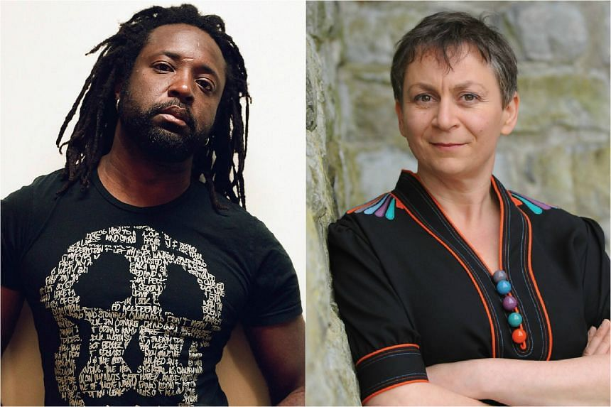 Novelists Marlon James (left) and Anne Enright (right) are among the 13 longlisted for the Man Booker Prize.