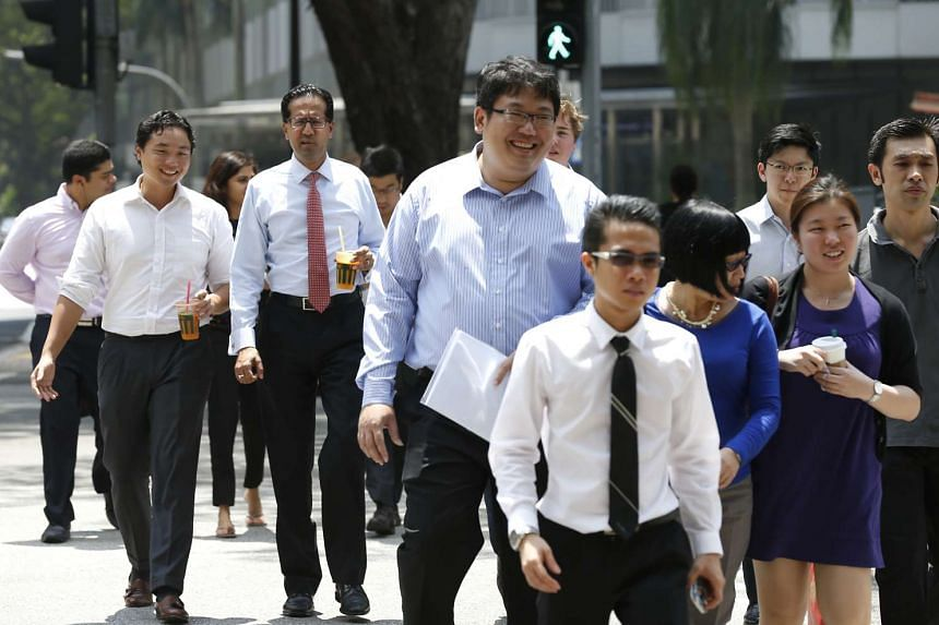 The Ministry of Manpower will release second-quarter employment statistics today.