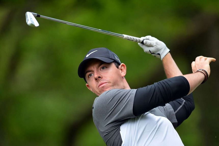 "McIlroy (above) wished the ""best of luck to all the competitors""."