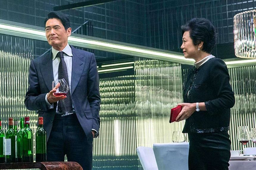 Office, starring Chow Yun Fat and Sylvia Chang (both above), will make its international debut at the Toronto festival in September.