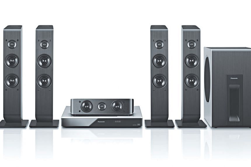 This Panasonic 4K 3D Blu-ray Home Theatre system is among the numerous prizes up for grabs among ST Run participants.