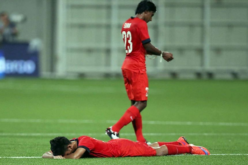Singapore's Under-23 footballers are shattered after losing to Indonesia 0-1 at the Jalan Besar Stadium, missing out on the SEA Games semi-finals for the first time as the host nation. But the FAS feels that the resources were sufficient and the team