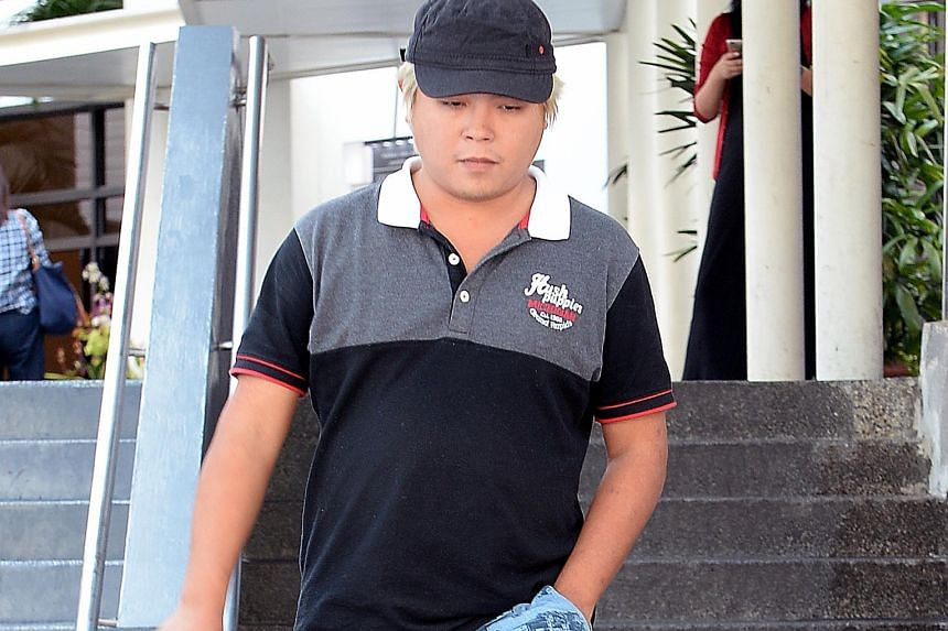 The fresh charge of insulting behaviour against Jover Chew states that he made a customer pick up $547 in coins from the floor of his shop.