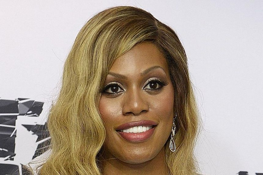 Orange Is The New Black Star Laverne Cox.