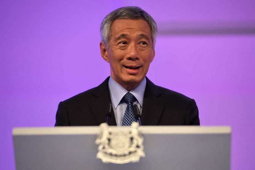 "PM Lee said that ISIS has been able to ""very intelligently"" use social media and the Internet."