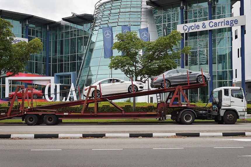 The group's poor performance in Indonesia was partly offset by an increase in Singapore's vehicle quota, which raised demand, and strong motor sales in Vietnam and Malaysia.