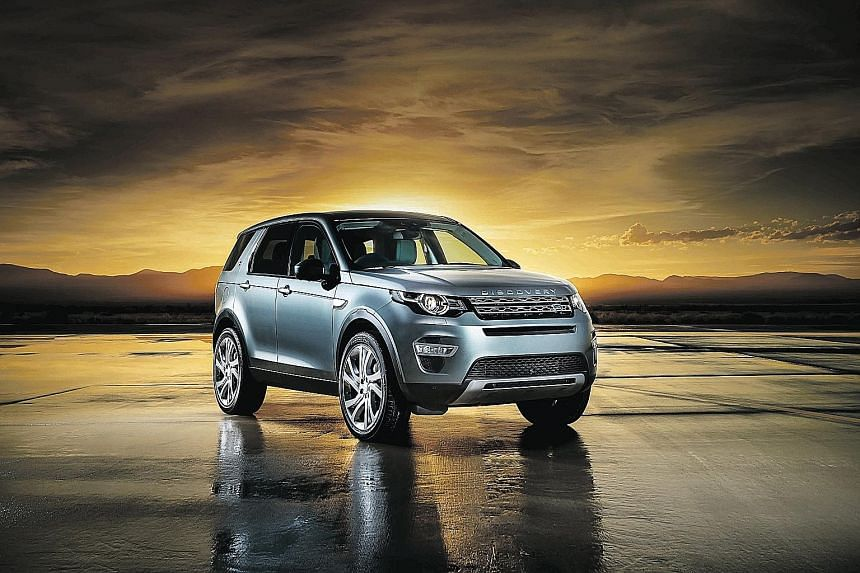 A Land Rover Discovery Sport is up for grabs for readers who take part in a lucky draw. Look out for a coupon in the print edition of The Straits Times from today and mail it in.