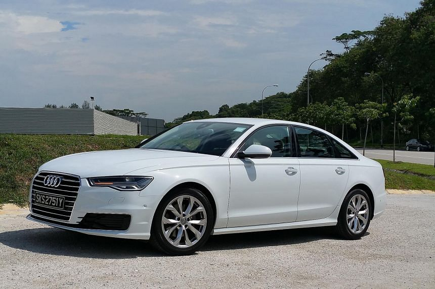 The new Audi A6 looks sleeker and sportier than the old version.
