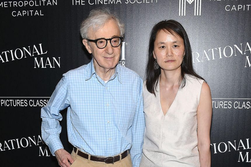 Woody Allen, 79, says he lucked out on his third and controversial marriage to Soon-Yi Previn, 44, the adopted daughter of his former girlfriend.