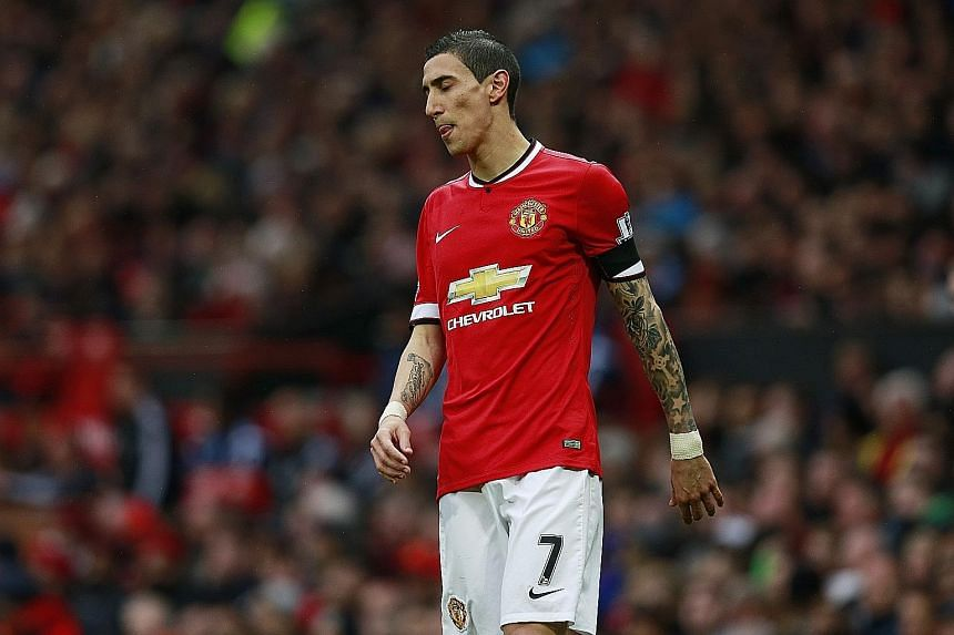 Angel di Maria, who moved to Manchester United from Real Madrid 12 months ago for a record sum, reportedly never saw eye to eye with manager Louis van Gaal.