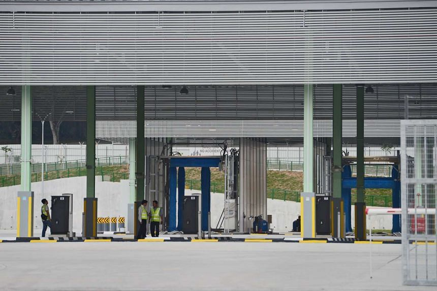 The Jurong depot, which cost $87.5 million to build, is expected to be ready in two months' time and will have rest areas for bus drivers and a fully air-conditioned canteen.