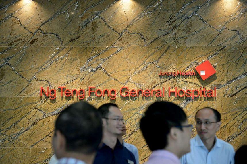 Ng Teng Fong Hospital.