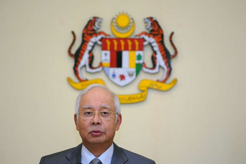 """Najib said his efforts to legislate transparency in political funding in 2009 were """"shot down by DAP"""", but added that he is ready to make a second effort for such legislature."""