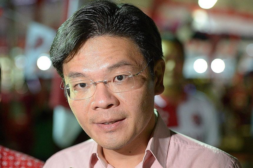 Mr Lawrence Wong's priority is to get to know residents in the new GRC.