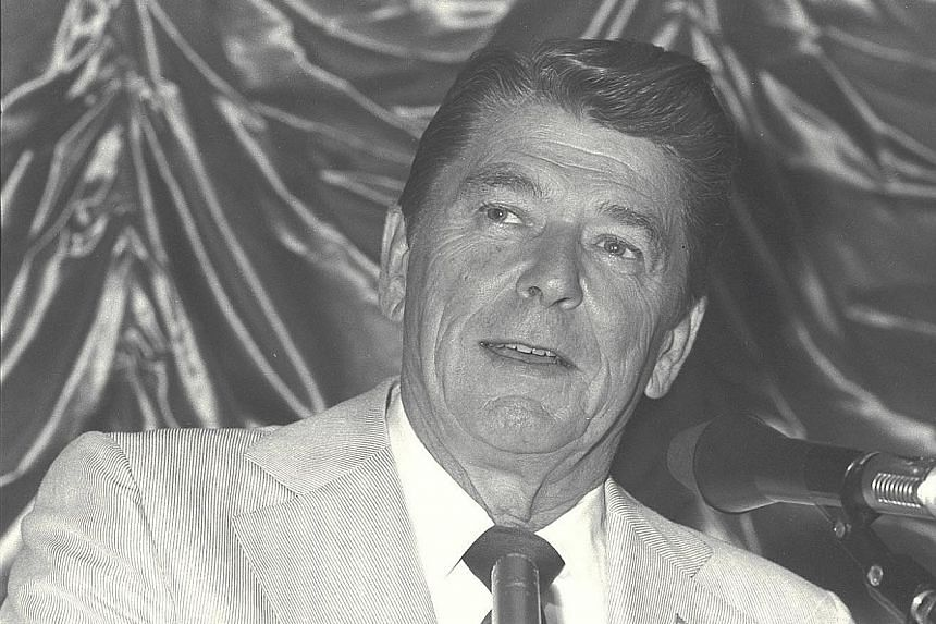 Former US president Ronald Reagan's success was not a result of raging against liberals or fighting big government. It came from his sunny optimism.