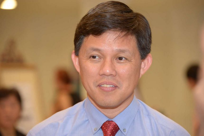 Minister in Prime Minister's Office and the Secretary-General of the National Trade Union Congress, Chan Chun Sing.