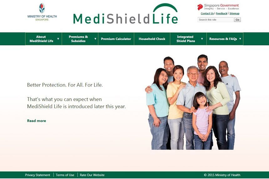 MediShield life, the compulsory health insurance which will cover everyone for their entire life, will start on November 1.