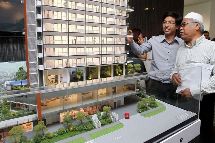 The 2012 launch of Millage@Changi, a commercial hub and condominium developed by Roxy Pacific Holdings Company and Macly Management Pte Ltd. It is expected to be completed by 2018.