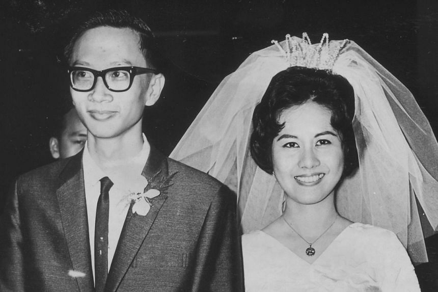Dr Ernest Chew was 22 years old when he married teacher Aileen Gay at the Bethesda Chapel in Frankel Estate. Now 72, they have three children: Alistair, Emrys and Alethea.