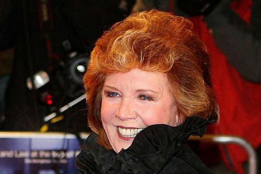 """Singer Cilla Black arrived for the premiere of the film """"Sleuth""""  in this file picture taken on Nov 18, 2007."""