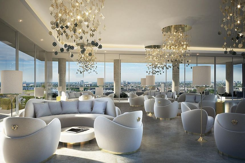 "Managing director Ziad El Chaar of Aykon Nine Elms' Dubai developer, Damac, said development plans for Nine Elms will have ""an equal distribution across all the social categories"". The residents' lounge at Aykon Nine Elms offers 360-degree views of L"