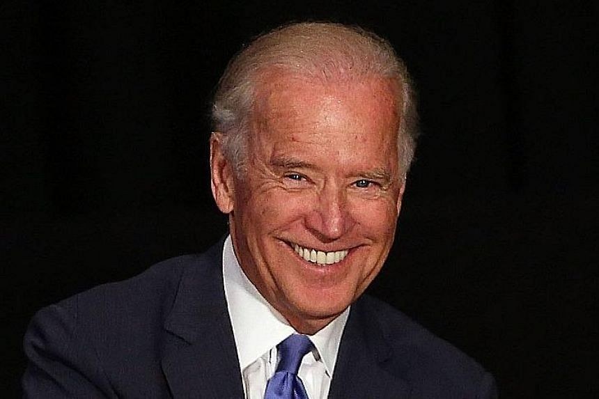 It was reported that Mr Biden's late son had told his father to run for president.