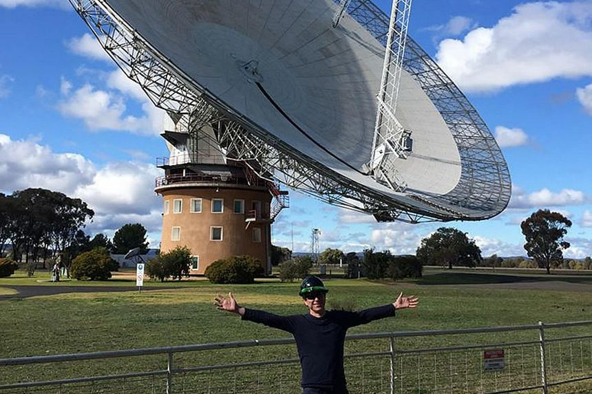 Astrophysicist Matthew Bailes at the Parkes telescope in New South Wales. He believes the Breakthrough Listen project will rank among the top pioneering  studies in the hunt for life on other planets, even though chances of success are slim.