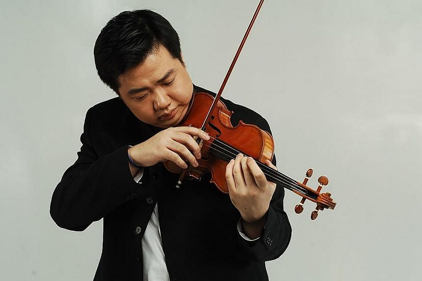 Chinese violinist Feng Ning showed great mastery of technique and tone production.