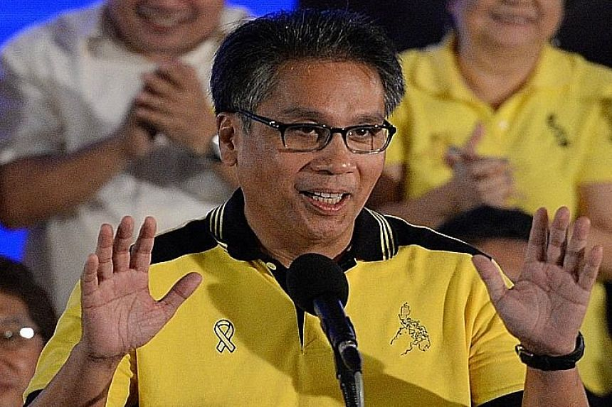 SERIOUS CONTENDER: If you dismiss him as a joke, I encourage you to look at the pool of available candidates, take a deep breath, and think again. - MR RICHARD HEYDARIAN, a political science professor at the De La Salle University, on Mr Mar Roxas (a