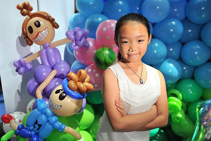 Kyanna Chong turned up yesterday to celebrate the 10th anniversary of KK Women's and Children's Hospital's Cleft and Craniofacial Centre (CCRC).