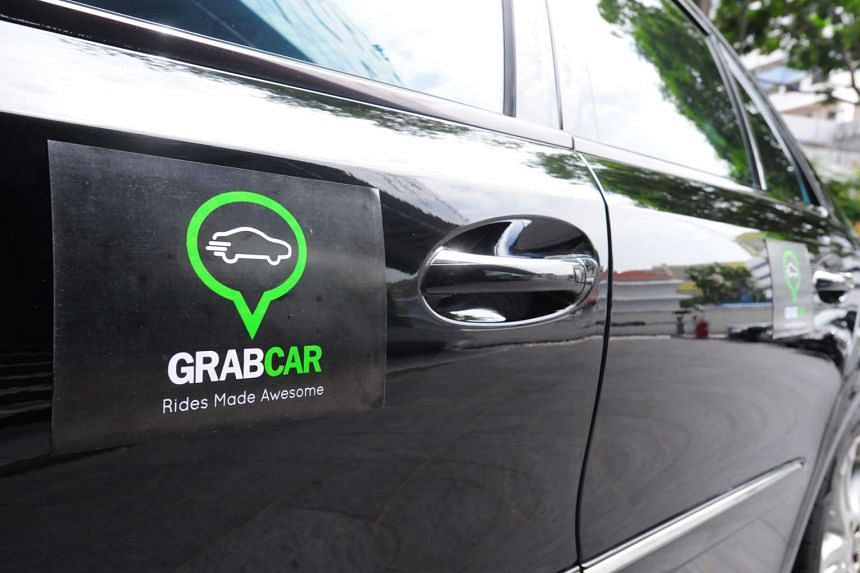 GrabTaxi has banned Mr Winson Tong from its GrabCar network, two weeks after he started working for them.