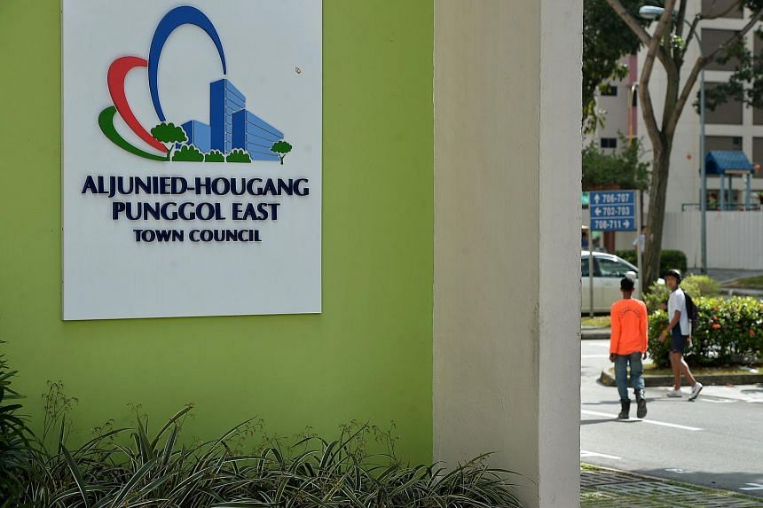 The Aljunied-Hougang-Punggol East Town Council (AHPETC) at Block 701, Hougang Ave 2.