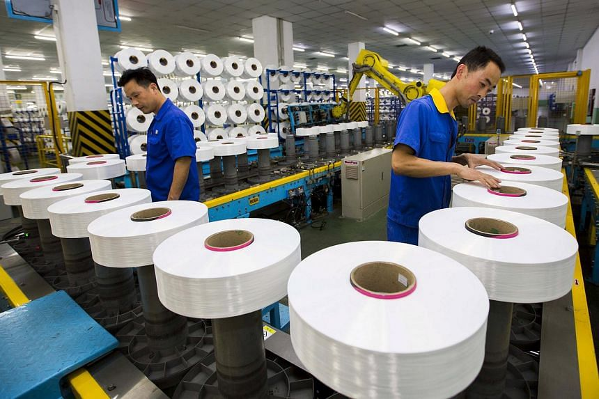 China's official factory activity survey released on Saturday showed growth at big manufacturing companies unexpectedly stalled in July as demand at home and abroad weakened.