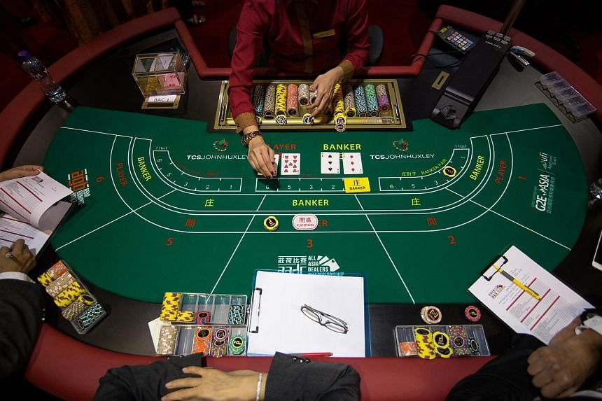 Gambling revenue fell year-on-year to 18.6 billion patacas (S$3.2 billion), according to data released by the Macau government.