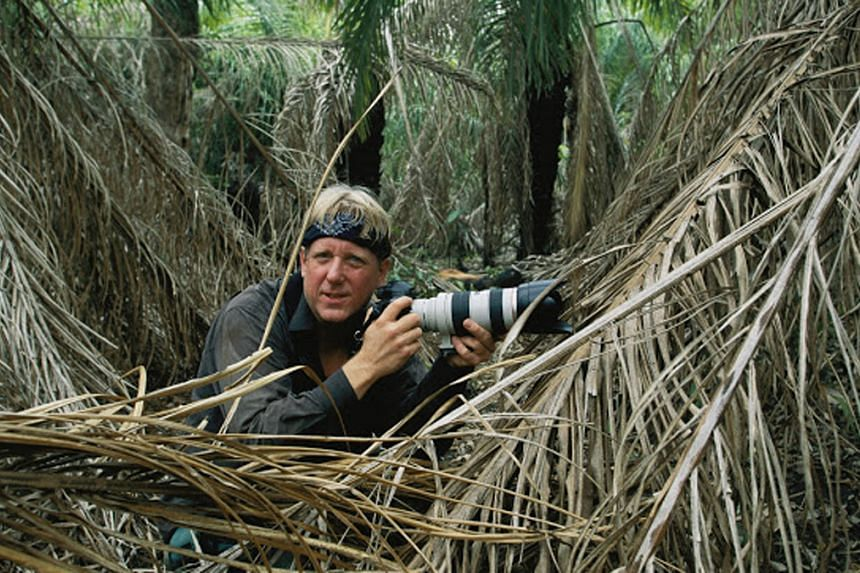 Steve Winter (above) photographs big cats in the wild and wants to be remembered as someone who does his best to save them.