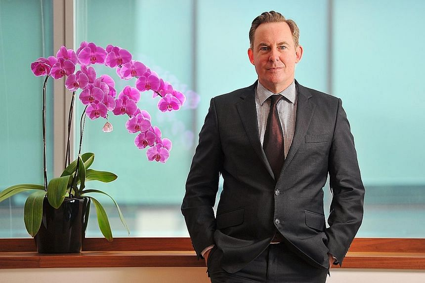HSBC Private Bank's Benjamin Pedley says the Singapore market stands out in the region from a dividend-yield perspective.