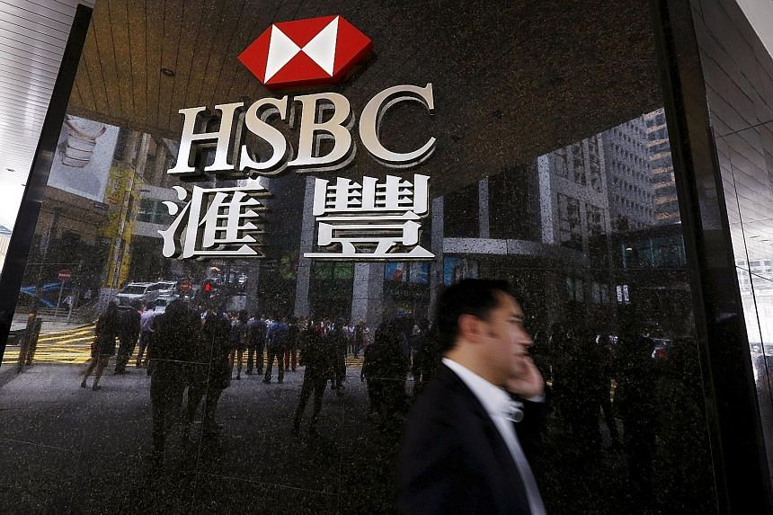Reflecting better performance, HSBC said its pre-tax profits in the first six months of the year were US$13.6 billion (S$18.7 billion), up from US$12.3 billion a year ago.