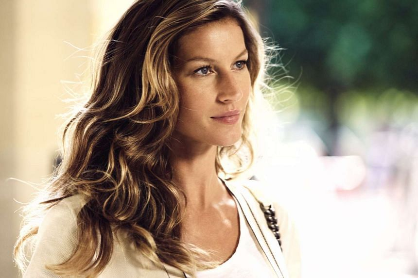 Gisele Bundchen pictured in a Chanel ad.