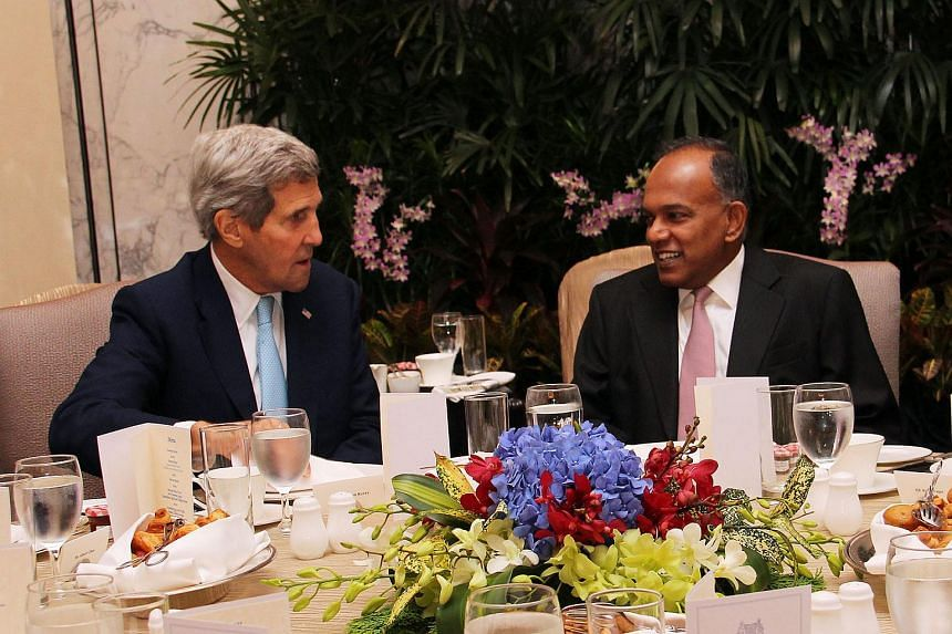 A Ministry of Foreign Affairs (MFA) statement said both sides reaffirmed the close and multi-faceted bilateral ties between Singapore and the US.