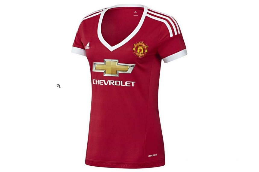 Manchester United kit maker Adidas has been forced to defend its controversial new shirt designed specifically for female fans of the Premier League club.