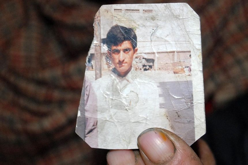 Shafqat Hussain (pictured) was hanged before dawn at a jail in Karachi for killing a seven-year-old boy the city in 2004.