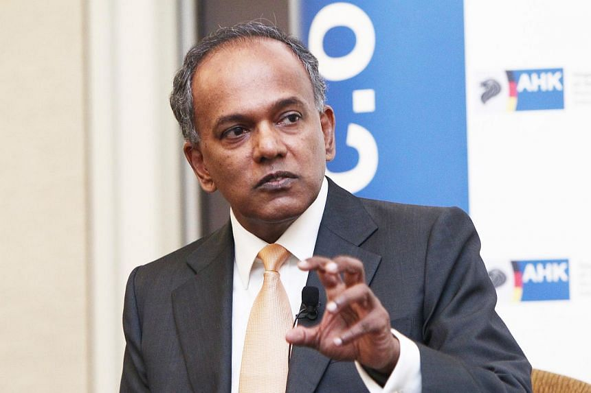 """Mr Shanmugam did not reveal any details except that it is of """"importance to us"""" and that it is related to the pricing and tariff for water."""