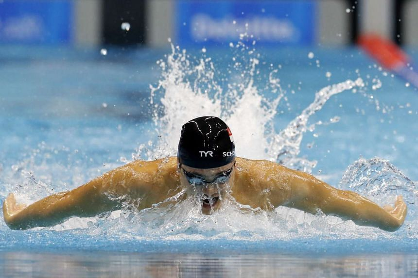 After breaking the Asian mark for the 50m fly during the World Championships semi-finals on Sunday, Joseph Schooling lowered the mark by another 0.02sec as he finished seventh in the final.