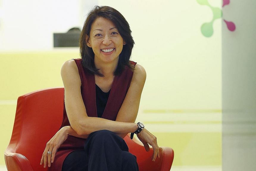 Ms Rosaline Koo, founder and CEO of CXA. Ms Koo forked out $5 million of her own money and worked out of her home for a year to build a platform that allows employees to choose benefits that suit them.