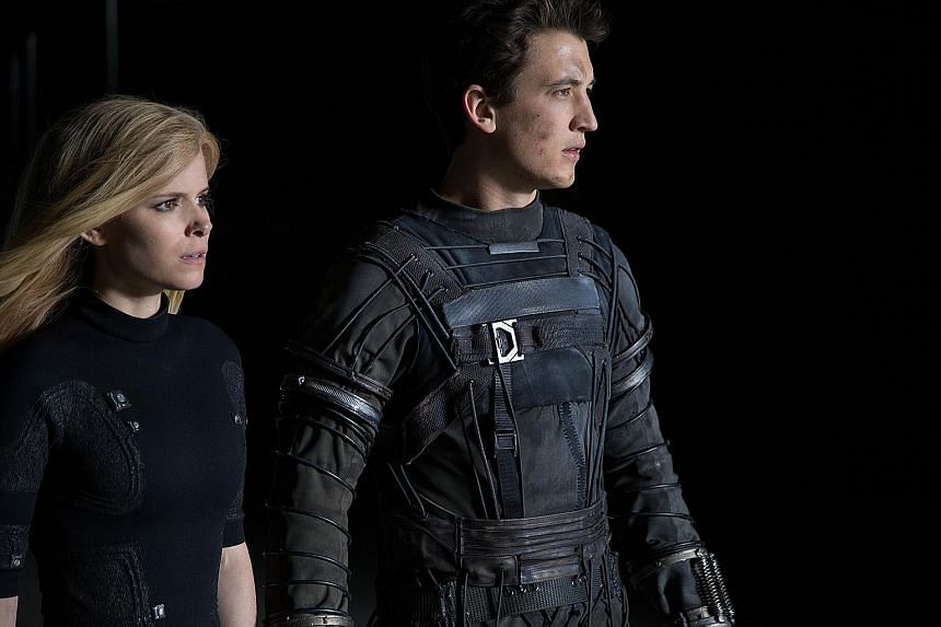 Miles Teller and Kate Mara star as Reed Richards and Sue Storm in the new reboot of Fantastic Four.