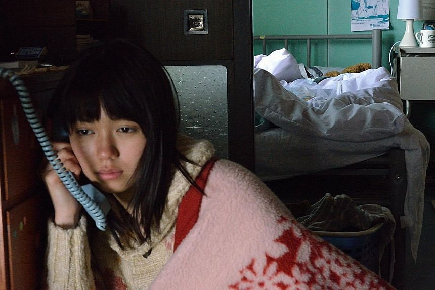 Fumi Nikaido (above) plays orphan Hana, who develops an intimate relationship with her guardian.